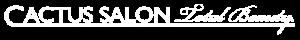 Cactus Salon and Spa Logo